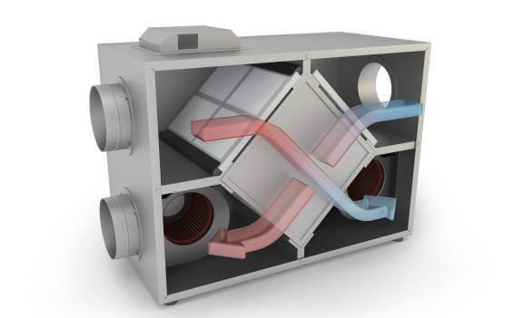 Service ventilationsanlæg